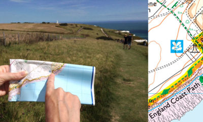 England Coast Path Map Reading Skills