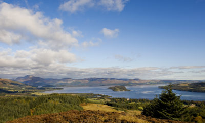 View of Loch Lomond on The John Muir Way